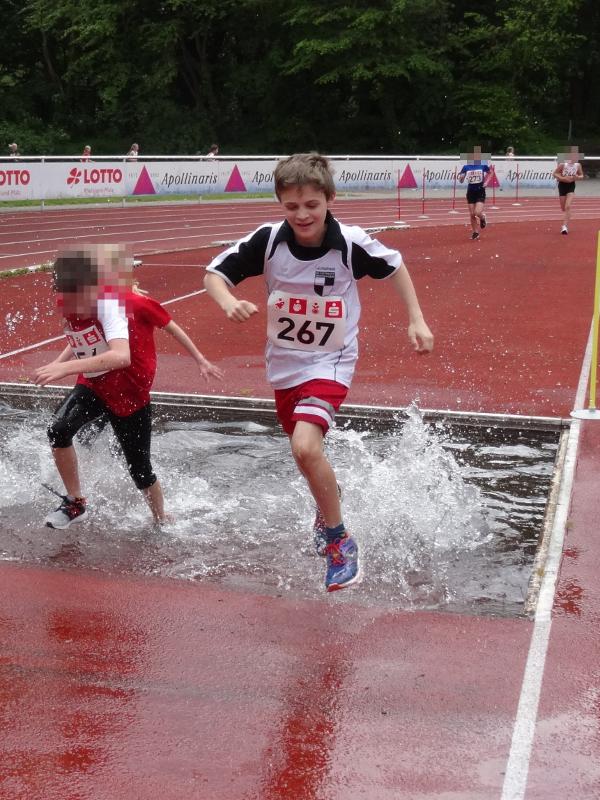VfB Linz Leichtathleten - Daniel am Wassergraben