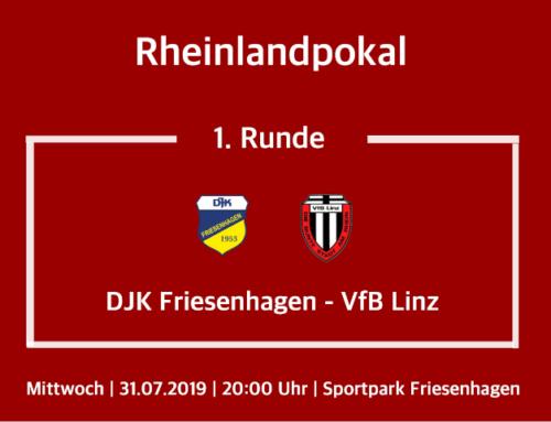 1. Runde im Bitburger Rheinlandpokal