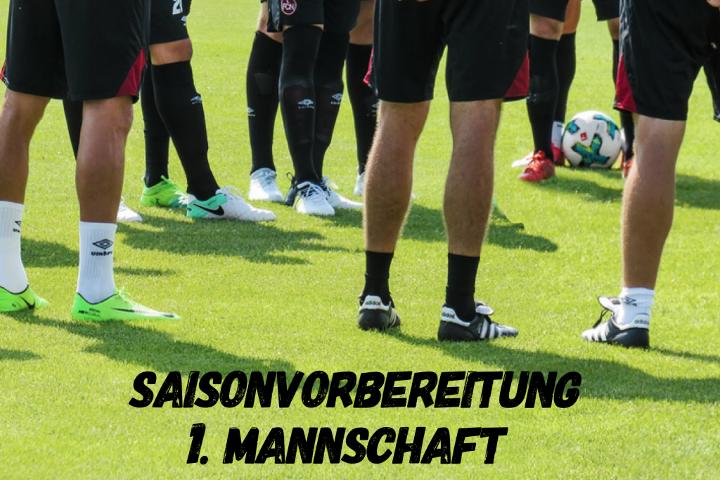 Saisonvorbereitung der 1. Mannschaft des VfB Linz