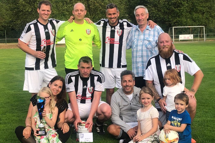 VfB Linz Alte Herren holen 2. Platz im Wiedtal