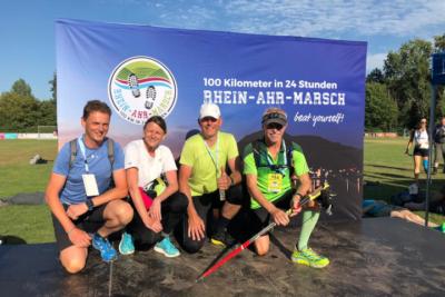 VfB Linz Leichtathleten beim Rhein-Ahr-Marsch 2019