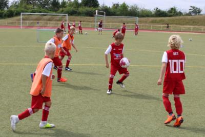 Fußballschule Doppelspass beim VfB Linz