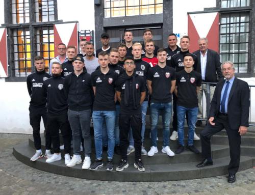 Stadt Linz ehrt die A-Junioren