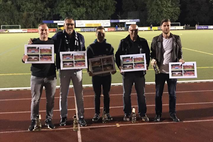 Der VfB Linz verabschiedet verdiente Spieler und Trainer