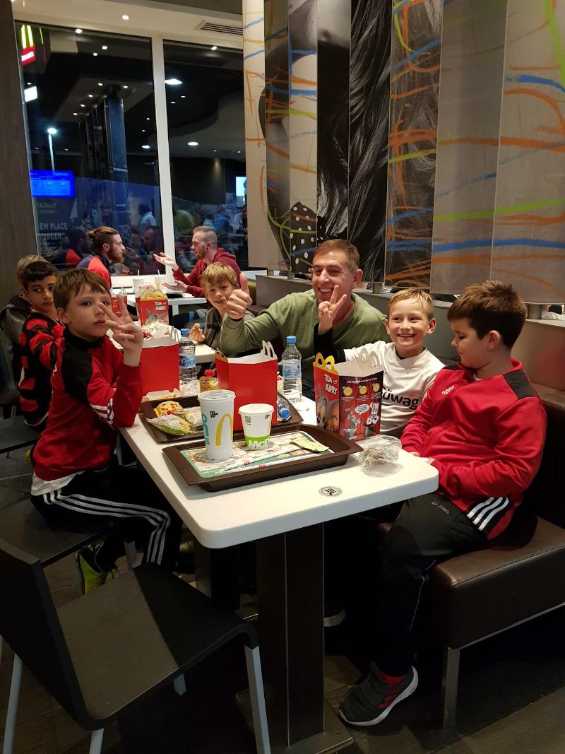 F1-Junioren bei McDonald's