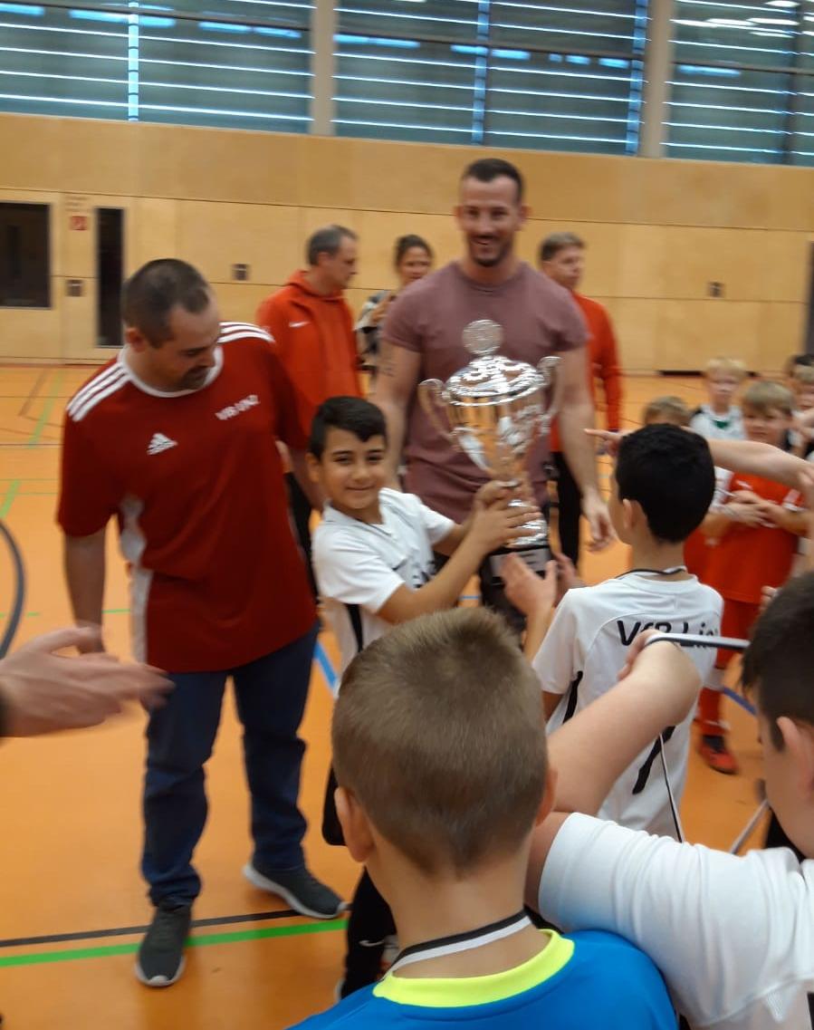 Turniersieg der F1-Junioren in Windhagen