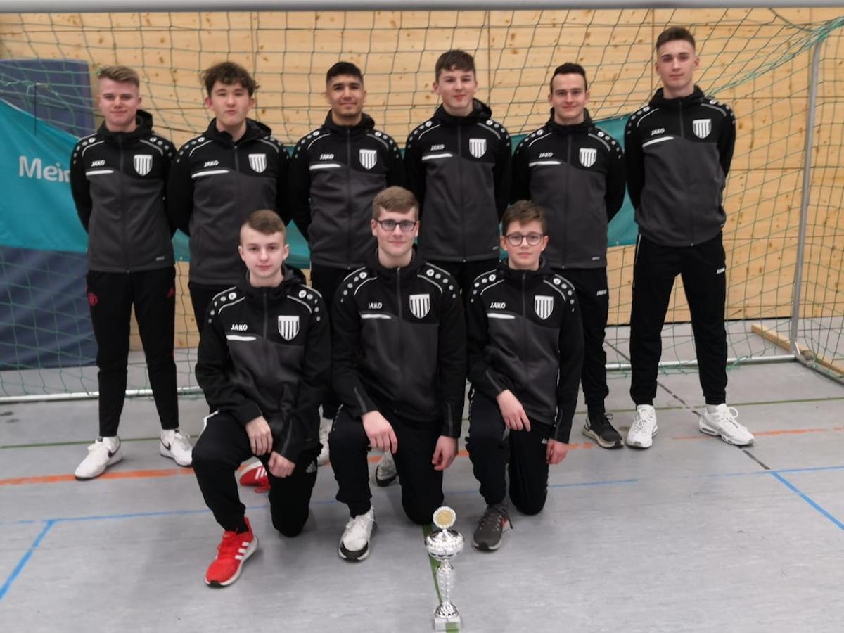 B-Junioren - Turniersieger JSG-Rheinbrohl/Linz - Süwag Hallencup 2020