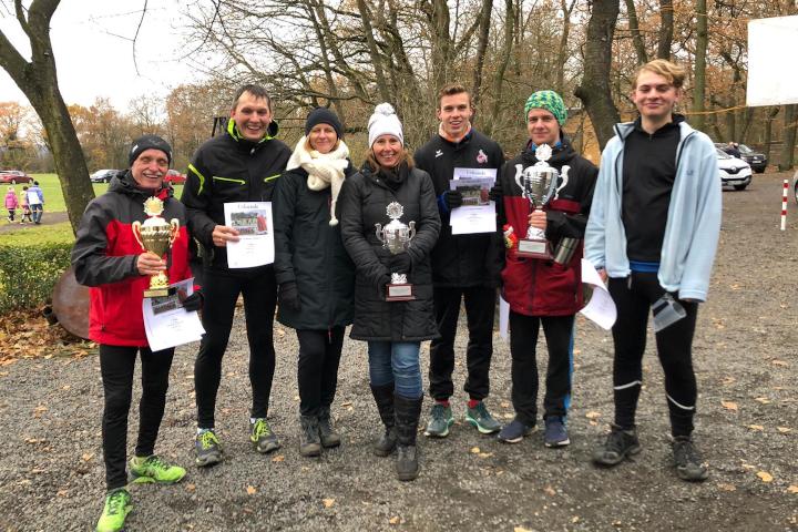 VfB Linz Leichtathleten gewinnen beim Nikolauslauf 2019